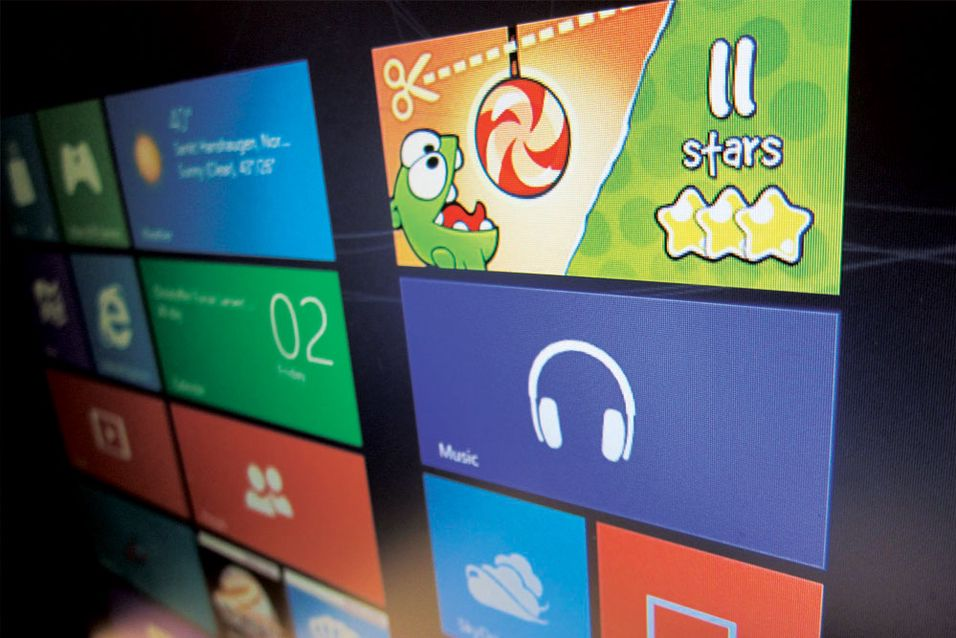 Vi har installert Windows 8