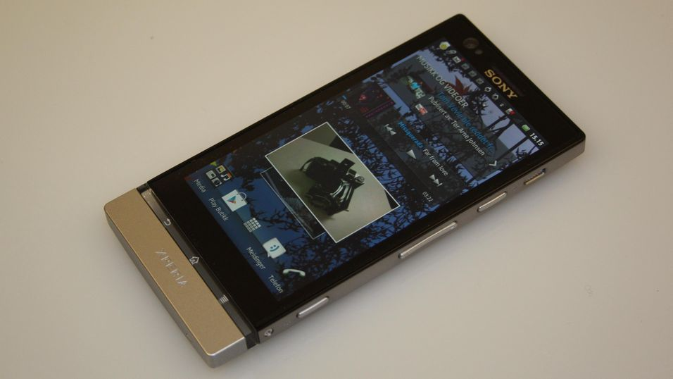 TEST: Sony Xperia P
