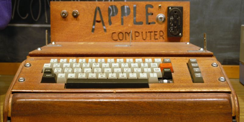 Apple 1-maskin solgt for rekordsum