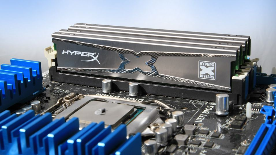 TEST: Kingston HyperX 10th Anniversary 4x4GB - DDR3 2400MHz CL11