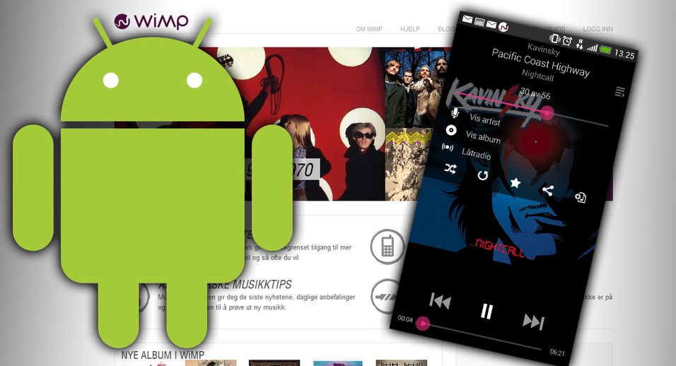 SNIKTITT: Wimp for Android Helt ny Wimp-app for Android-mobiler