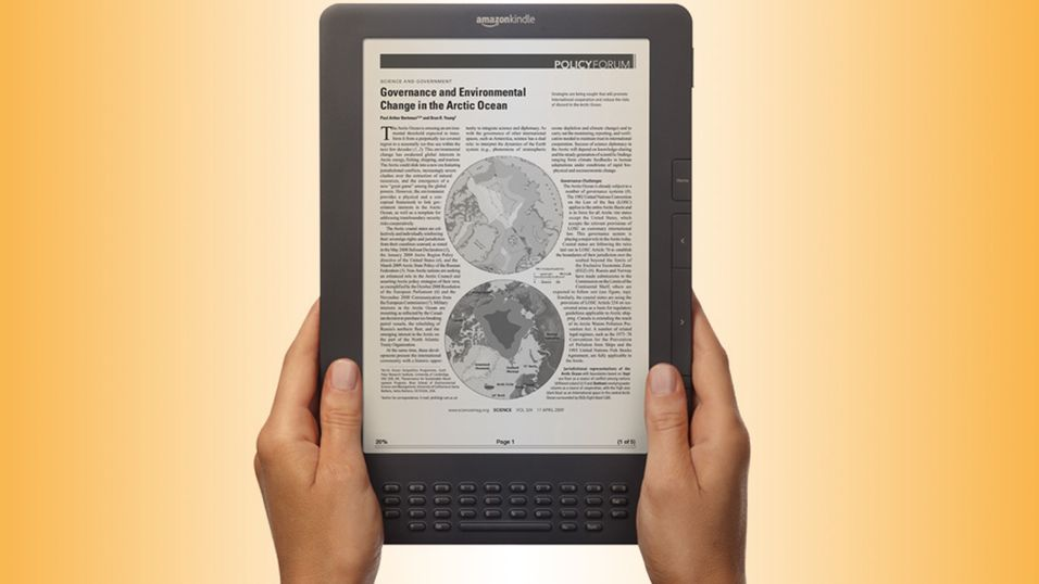 Diger Kindle vender tilbake hos Amazon