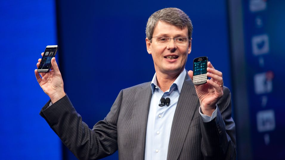Thorsten Heins, sjef for BlackBerry.