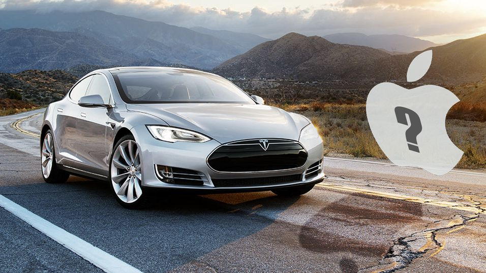 Apple i prat med Tesla