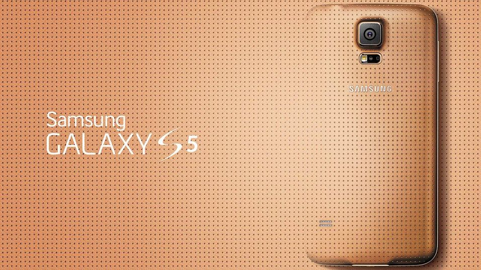 Glam Galaxy S5 Gold
