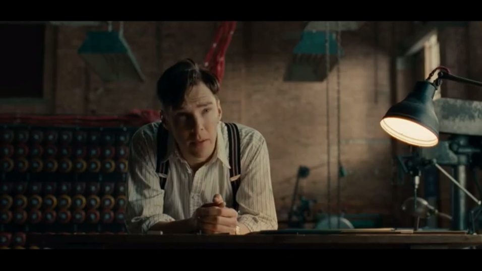 Benedict Cumberbatch som Alan Turing i «The Imitation Game».