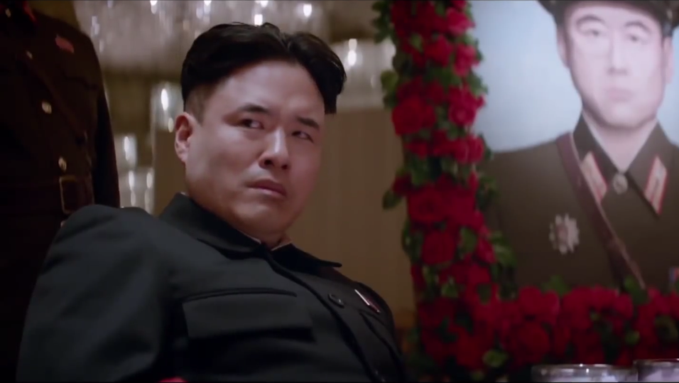 Skjermbilde fra traileren til «The Interview».
