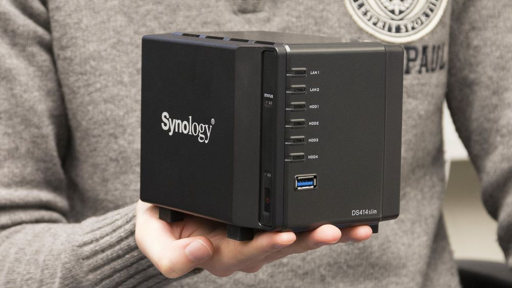 TEST: Synology DiskStation DS414slim