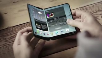 Samsung hinter om sammenbrettbar mobil i ny video