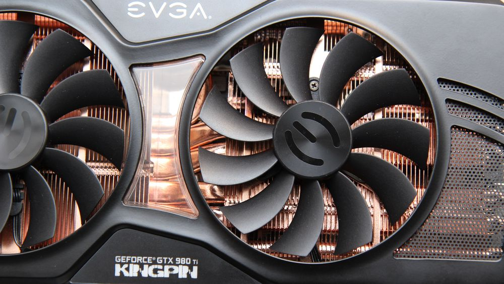 EVGA GeForce GTX 980 Ti Kingpin.