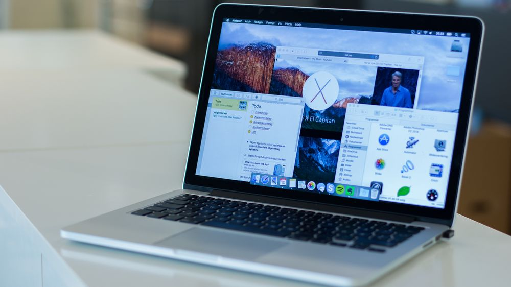 TEST:  Apple OS X El Capitan (10.11)