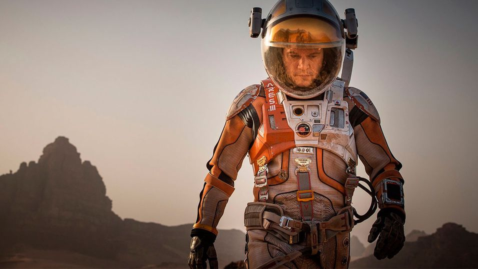 «The Martian» kan bli årets sci-fi-film