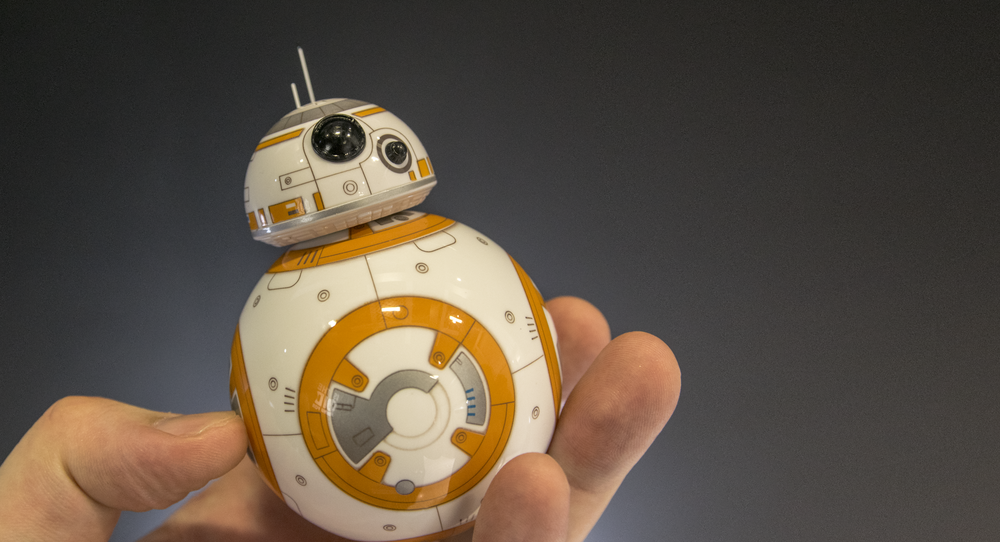 The droid you're looking for? Vi syntes iallfall BB-8 fra Sphero og Star Wars var et hyggelig bekjentskap.