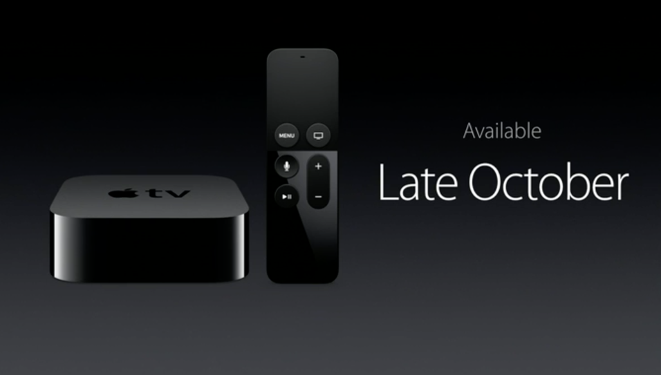 Her er nye Apple TV