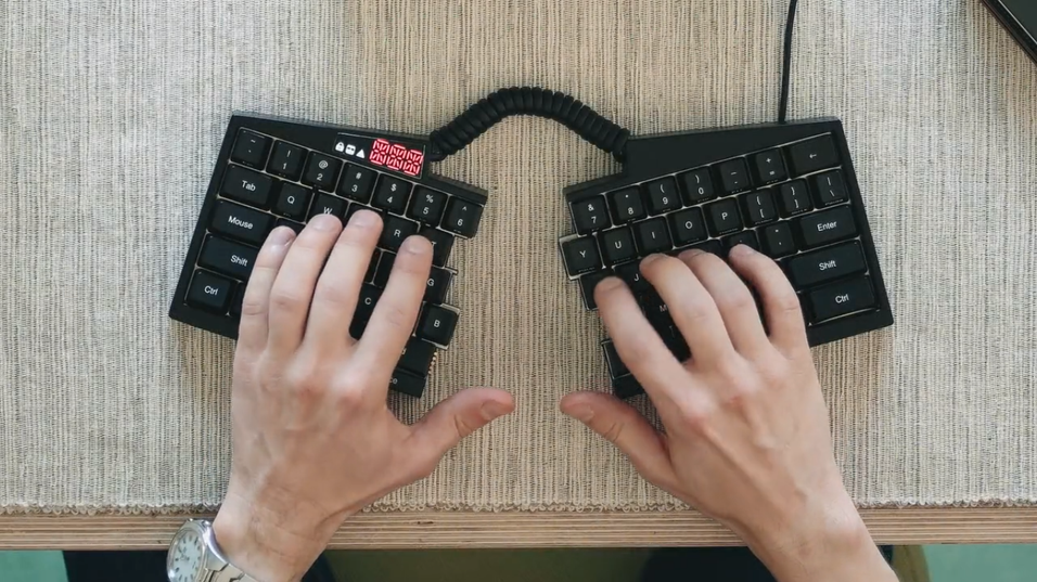 Ultimate Hacking Keyboard.