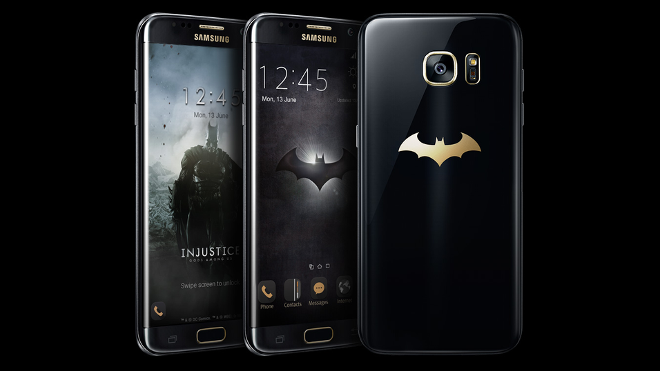 Samsung Galaxy S7 Edge Injustice Edition.