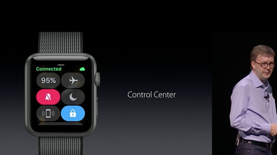 Kevin Lynch i Apple presenterer nye Watch OS 3.