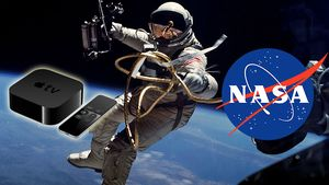 NASA lanserer sin egen app til Apple TV
