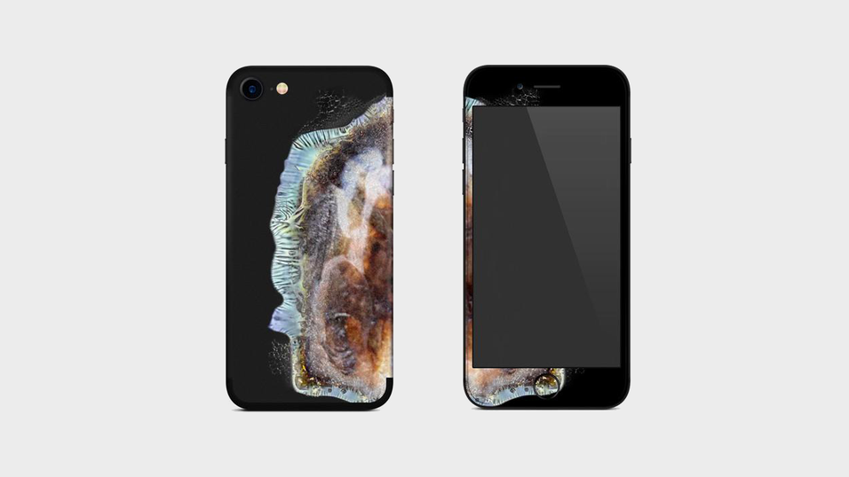 Det nye iPhone-dekselet «Explo-sung iPhone Skin».