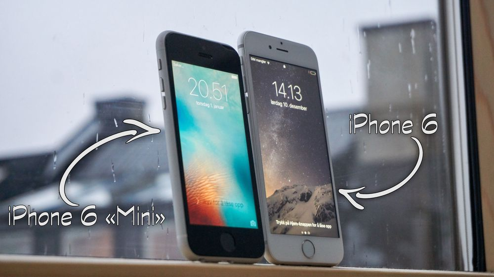 GUIDE: Lag iPhone 6 «Mini» Si hei til iPhone 6 «Mini»