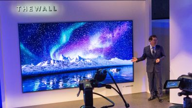 Samsung er klar for masseproduksjon av «The Wall»