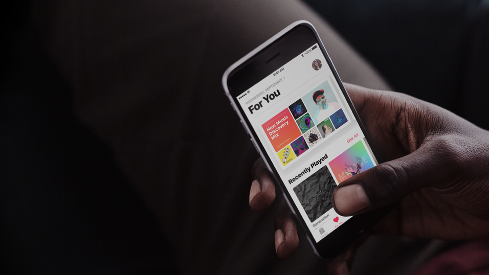Apple Music vokser kraftig