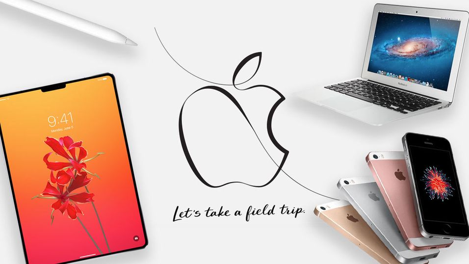 Ny Apple Pencil og ny iPhone SE er ikke så sikkert, men vi får trolig se ny Macbook Air og iPad Pro neste uke.