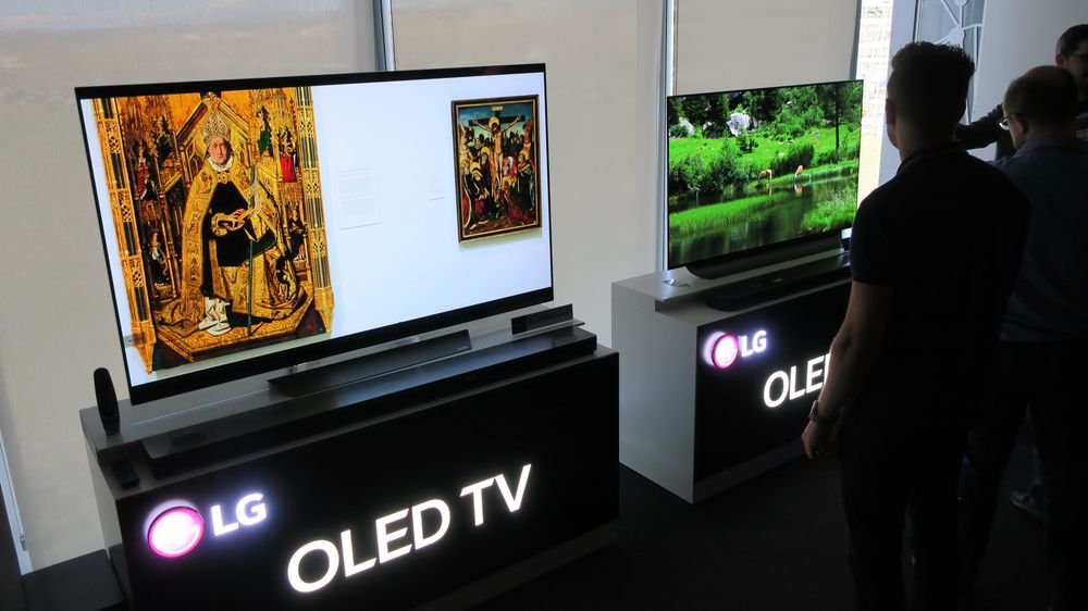 Her er LGs OLED-TV-er for 2018.