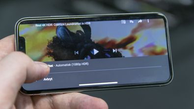 YouTube åpner for HDR på iPhone X