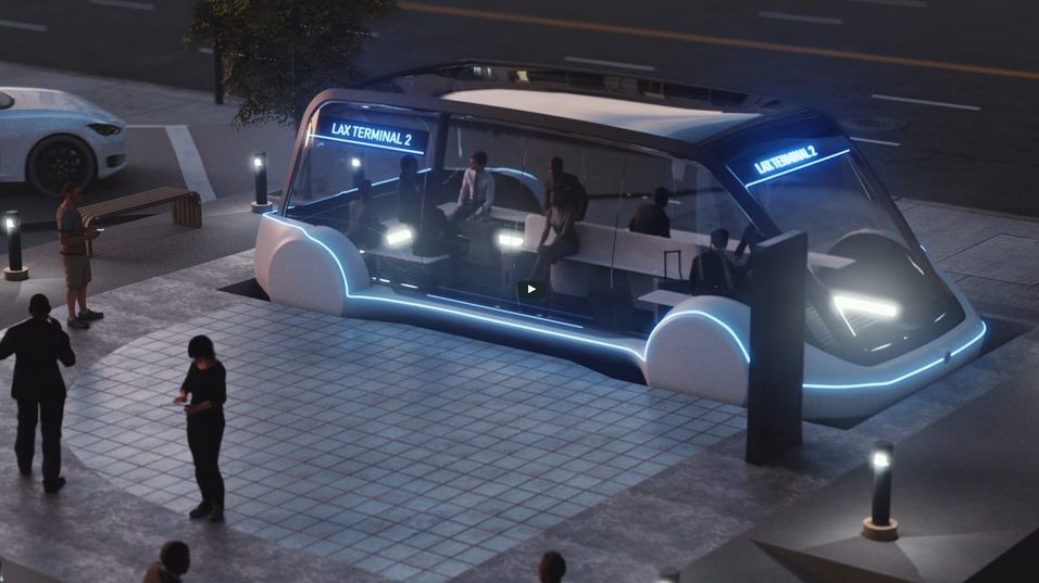 Grønt lys for Elon Musks futuristiske transport