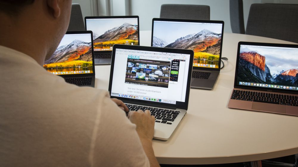 GUIDE: Apples MacBooker for studier Nekter du å bruke Windows? Les dette før du kjøper en ny MacBook