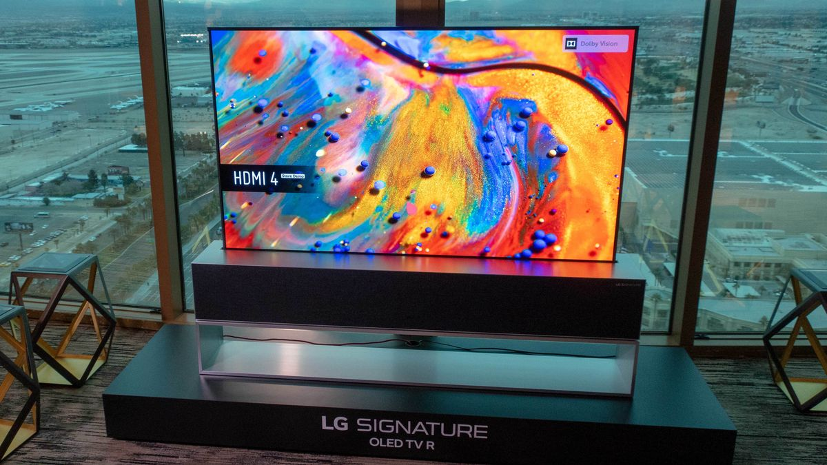 SNICT: LG's Roll TV is coming on sale this year – we've tried it