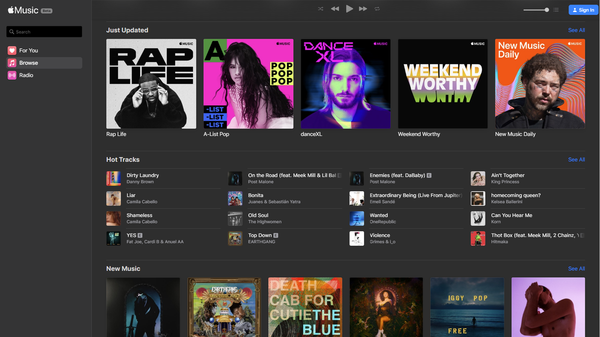 Apple Music is now available in your browser