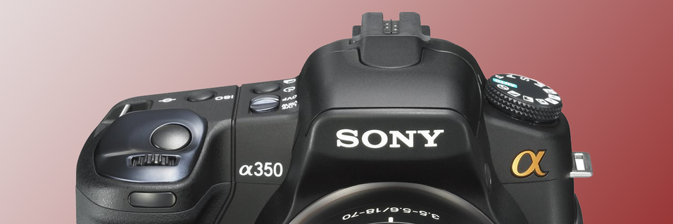 TEST: Sony Alpha A350