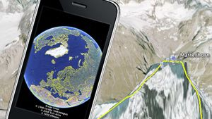Nå kan du få Google Earth på Iphone