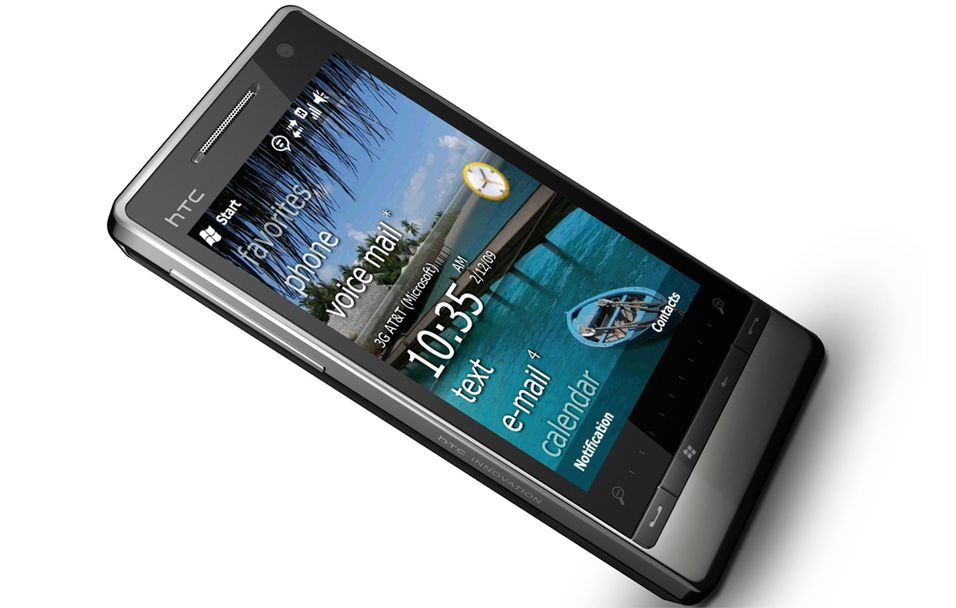 HTC Touch Diamond 2 blir en av de første mobilene med Windows Mobile 6.5.