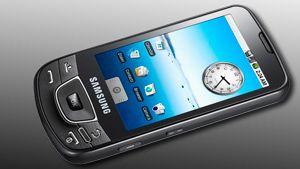 Samsungs Android i salg