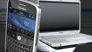 Google lanserer push for Blackberry