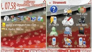 Xmas Time Red mobiltema