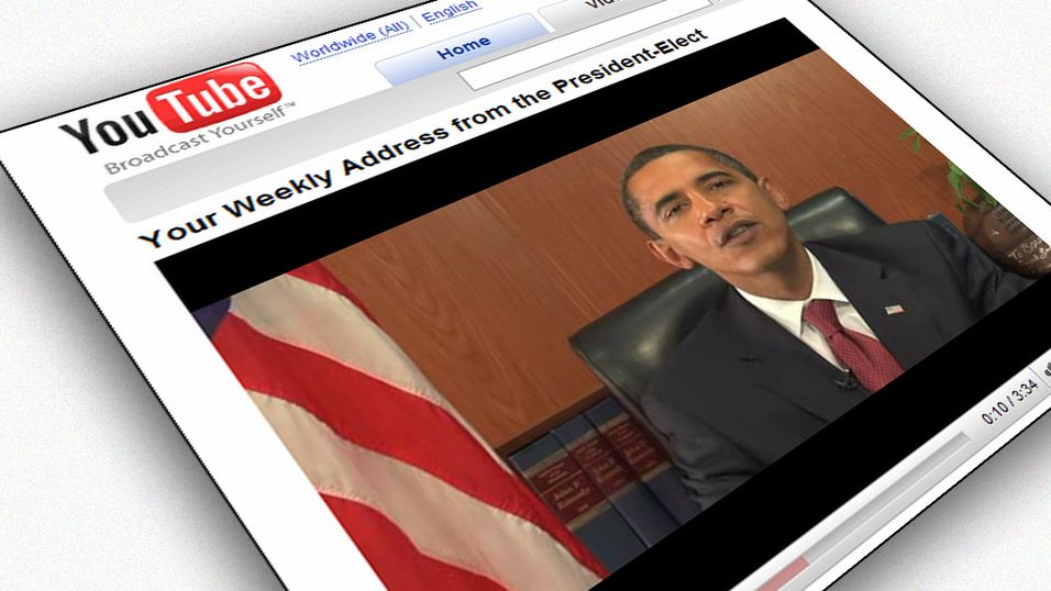 Obama fortsetter Youtube-satsning