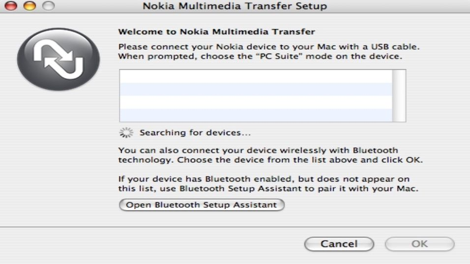 Nokia Multimedia Transfer 1.3 Beta