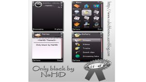 Only black mobiltema