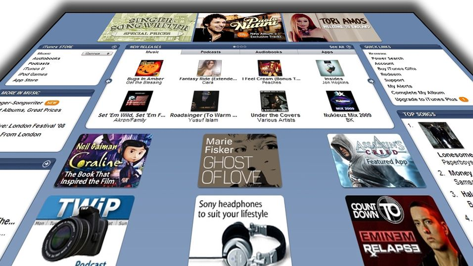 TEST: Test av Itunes Music Store