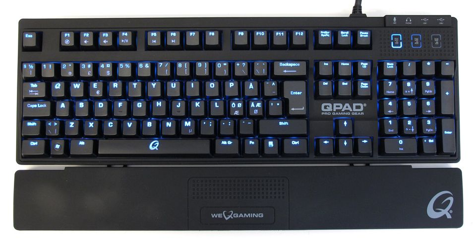TEST: Qpad MK-80 Pro Gaming Mechanical Keyboard