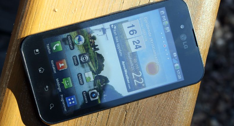 TEST: LG Optimus Black