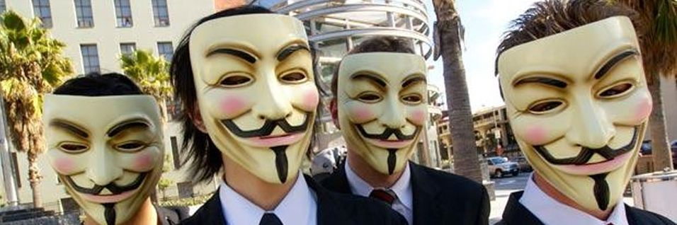 Razzia mot Anonymous