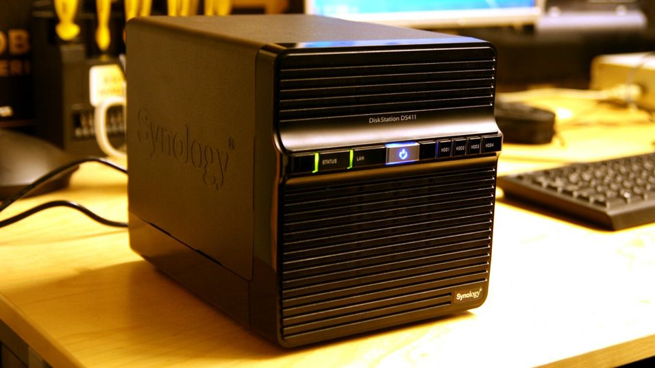 TEST: Synology DiskStation DS411